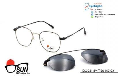 glasses SUN CLIP DC3041 49[]20 140 C3